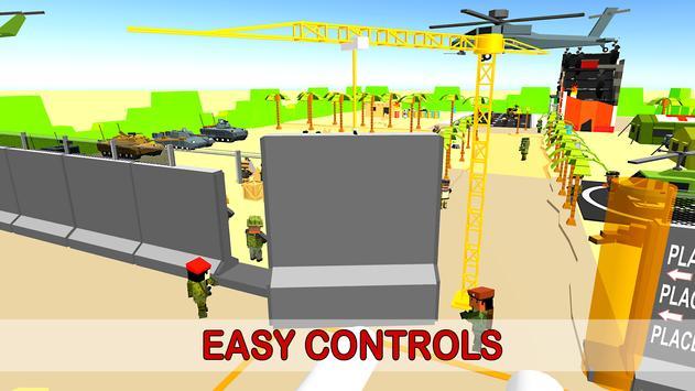 Army Border Wall Construction Game screenshot 16