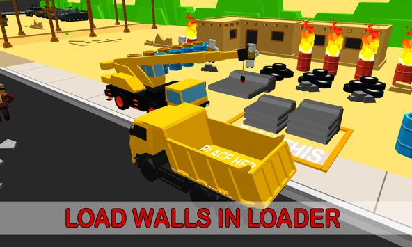 Army Border Wall Construction Game screenshot 1
