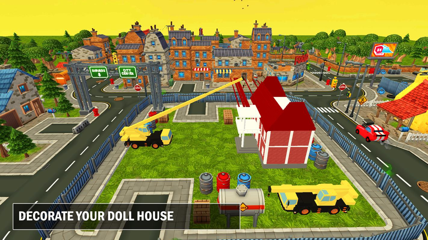 Doll House Construction Decoration Games For Girls For Android Apk