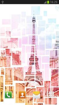 Cute Paris Wallpaper Poster