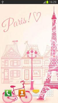 Cute Paris Wallpaper Screenshot 2