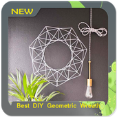 Best DIY Geometric Wreath icon