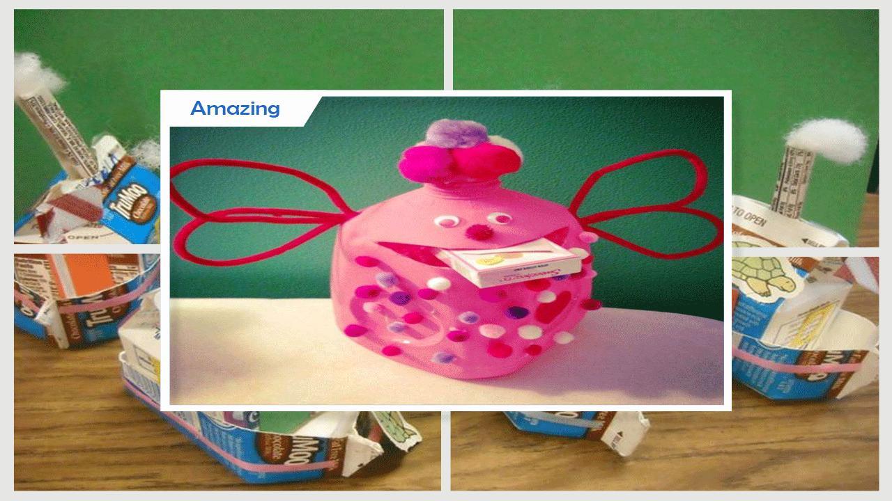 Easy DIY Milk Carton Basket Craft poster