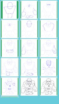 How to Draw All Clash Of Clans screenshot 4