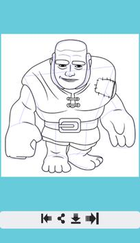 How to Draw All Clash Of Clans screenshot 7