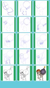 How to Draw All Clash Of Clans screenshot 9