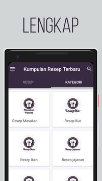 Resep Masakan Indonesia Terbaru screenshot 1