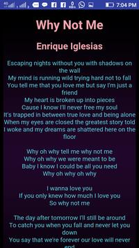 Enrique Iglesias Lyrics new update screenshot 5