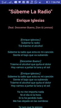 Enrique Iglesias Lyrics new update screenshot 3