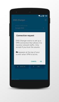 DNS Changer (No Root) screenshot 1
