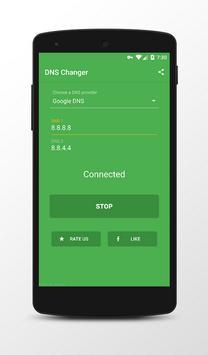 DNS Changer (No Root) screenshot 2