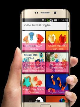 Video Tutorial Origami poster
