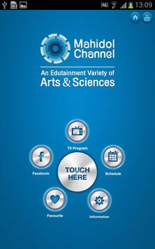 Mahidol Channel poster