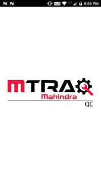 MahindraAD MTraq QC poster