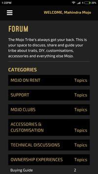 Mahindra Mojo apk screenshot