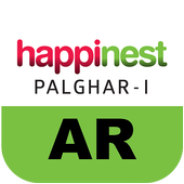 Happinest Palghar-1 Apartments AR icon
