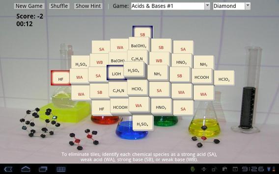 Mahjong Chem apk screenshot