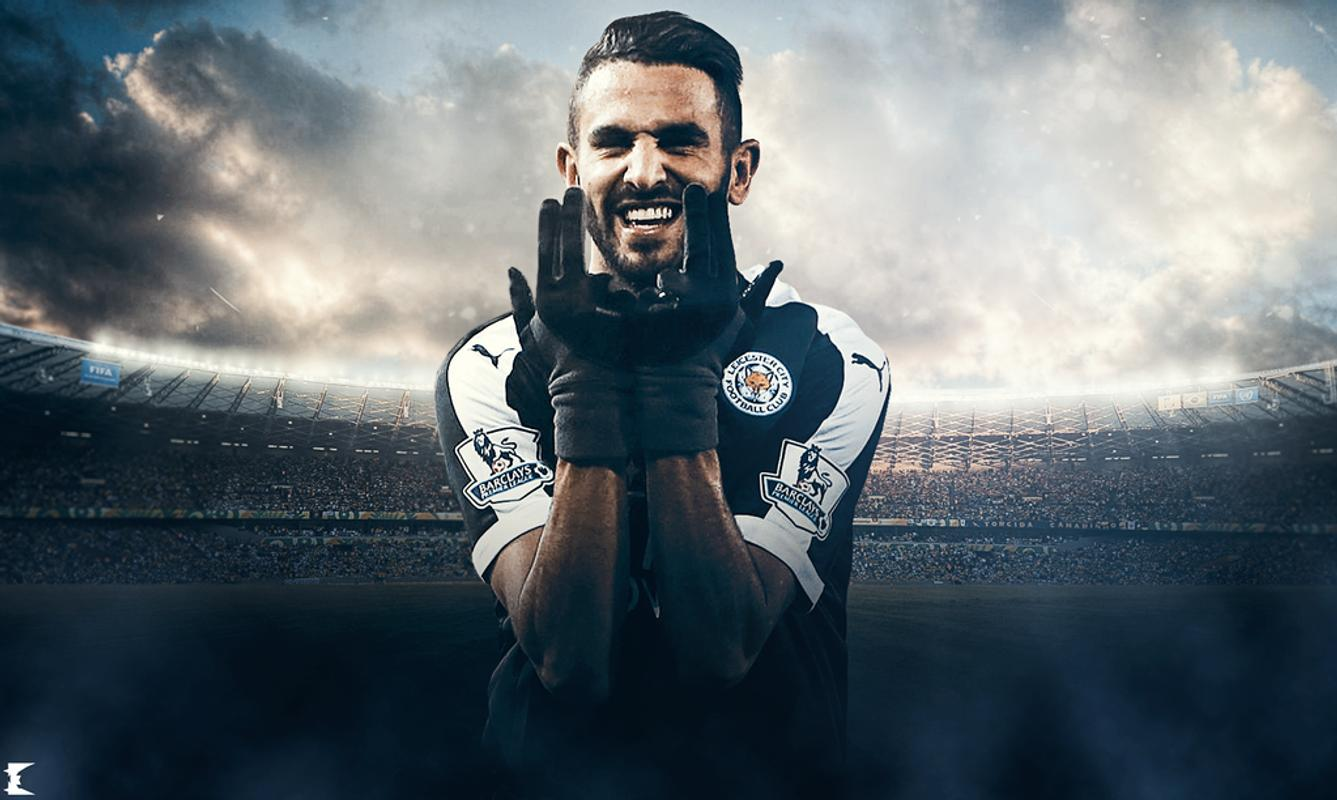 Riyad Mahrez Wallpaper For Android