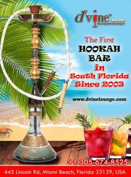 D'vine Hookah Lounge poster