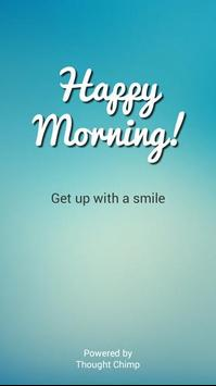 Happy Morning - Alarm Clock poster