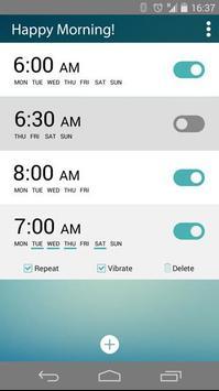 Happy Morning - Alarm Clock apk screenshot