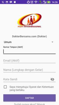 DokterBersama.com (Dokter) screenshot 2
