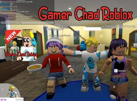 New Gamer Chad Roblox Tips For Android Apk Download - gamer chad roblox skin