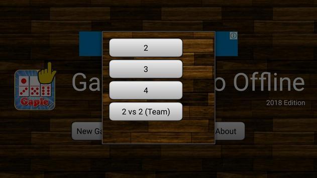 Domino Gaple Offline 2018 screenshot 2