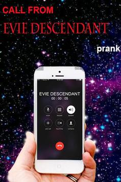 Fake call from Evie Descendant screenshot 2