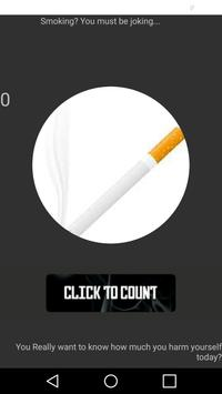 Cigarettes Counter poster