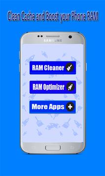 RAM Booster & Cache Cleaner poster