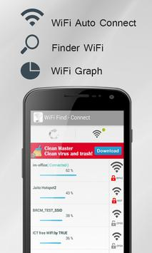 WiFi Finder & Connect poster