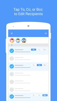 Email Messenger by MailTime captura de pantalla de la apk