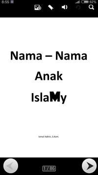 Nama Nama Anak Islamy poster