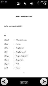 Nama Nama Anak Islamy screenshot 1