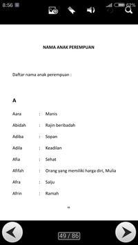 Nama Nama Anak Islamy screenshot 2