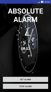 Absolute Alarm poster