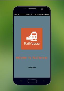 Rail Radar - Live Train Status, PNR Status Info poster