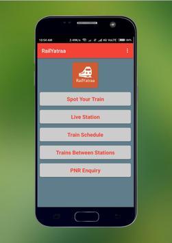 Rail Radar - Live Train Status, PNR Status Info screenshot 1