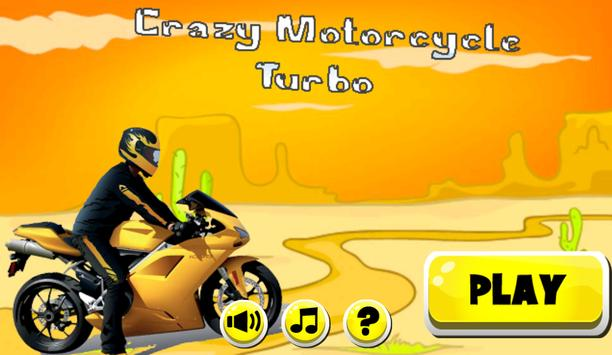 Crazy Motorcycle Turbo poster