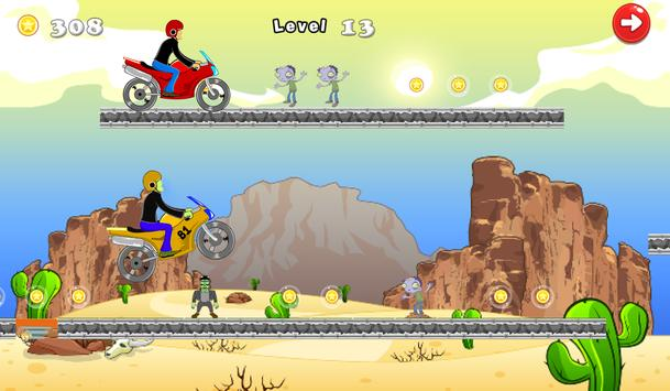 Crazy Motorcycle Turbo 2 screenshot 4