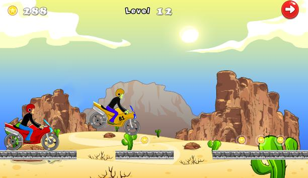 Crazy Motorcycle Turbo 2 screenshot 13