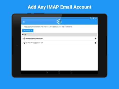 MailPusher apk screenshot