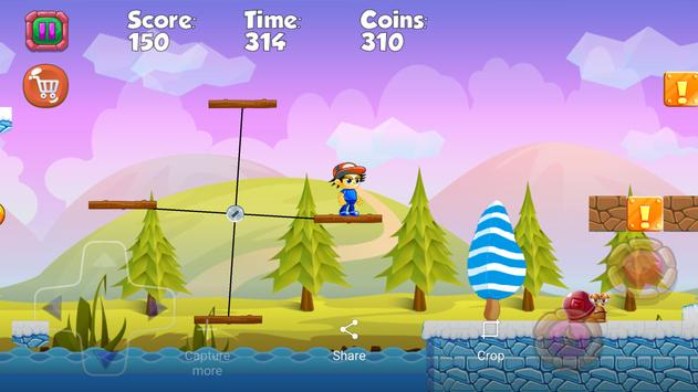 Super Boy jungle adventure screenshot 12