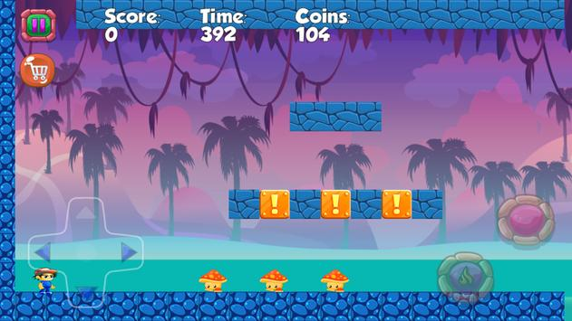 Super Boy jungle adventure screenshot 2