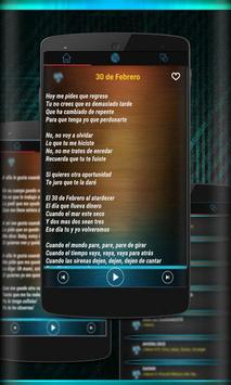 Ha ash Musica Letras Nuevo Mp3 2018 apk screenshot