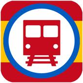 Metro ES Madrid, Barcelona icon