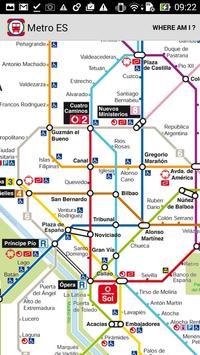Metro ES Madrid, Barcelona screenshot 1
