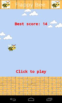 Flappy Bee Pro poster