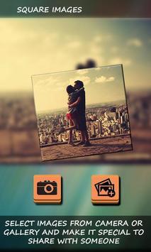Insta Square Photo poster